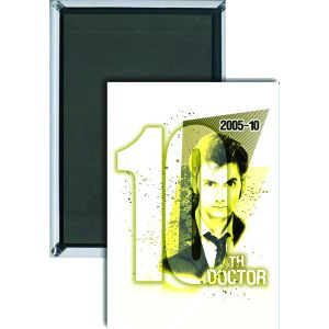 [Doctor Who: Magnet: 10th Doctor (Product Image)]