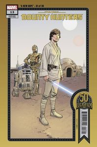 [Star Wars: Bounty Hunters #13 (Sprouse Lucasfilm 50th Variant) (Product Image)]