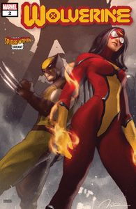 [Wolverine #2 (Parel Spider-Woman Variant DX) (Product Image)]
