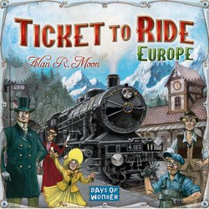 [Ticket To Ride: Europe (Product Image)]