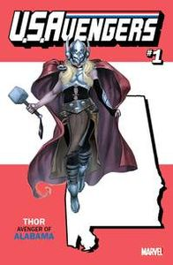 [Now U.S. Avengers #1 (Alabama State - Reis Variant) (Product Image)]