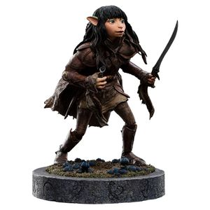 [The Dark Crystal: Age Of Resistance: Statue: Rian The Gelfling (Product Image)]