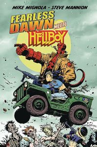 [Fearless Dawn Meets Hellboy: One Shot (Mannion Cover) (Product Image)]