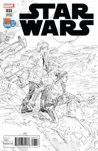 [Star Wars #33 (SDCC 2017 B&W Variant) (Product Image)]