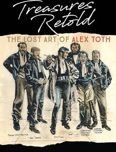 [Treasures Retold: The Lost Art Of Alex Toth (Hardcover) (Product Image)]