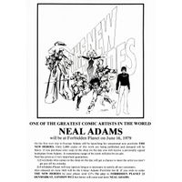 [Neal Adams signing The New Heroes (Product Image)]