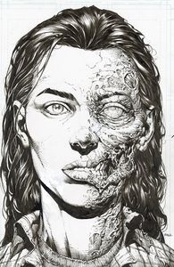 [Walking Dead: Deluxe #3 (Cover B Finch & Mccaig Raw Variant) (Product Image)]
