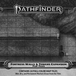 [Pathfinder: Flip-Tiles: Fortress Walls & Towers Expansion (Product Image)]