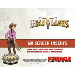 [Deadlands: The Weird West: Game Master Screen & Adventure (Product Image)]