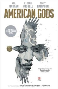 [American Gods: Shadows: Volume 1 (Hardcover - Signed Mini Print Edition) (Product Image)]