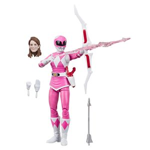[Mighty Morphin Power Rangers: Lightning Collection Action Figure: Pink Ranger (Product Image)]