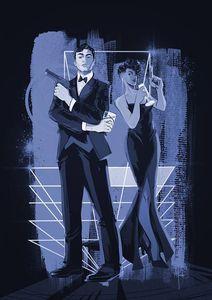 [James Bond #4 (Richardson Tint Version Variant) (Product Image)]