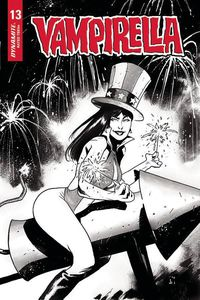[Vampirella #13 (Mason America Together Black & White Variant) (Product Image)]
