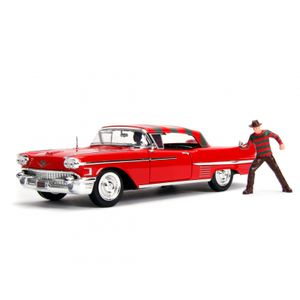 [Nightmare On Elm Street: Action Figure: 1958 Cadillac Series 62 With Freddy Kruger (Product Image)]