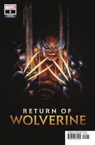 [Return Of Wolverine #5 (Kubert Variant) (Product Image)]