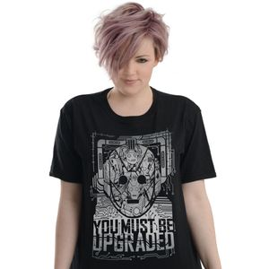 [Doctor Who: T-Shirt: Cybermen, Upgrade! (Product Image)]