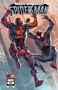 [Miles Morales: Spider-Man #25 (Liefeld Deadpool 30th Variant) (Product Image)]