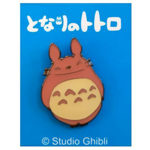 [My Neighbour Totoro: Pin Badge: Big Totoro Smile (Product Image)]