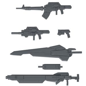 [Gundam: HGBC Model Kit Accessories: 24th Century Weapons (Product Image)]