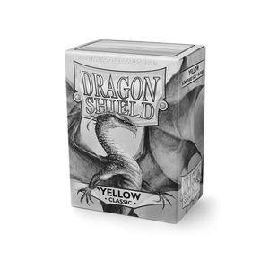 [Dragon Shield: Card Sleeves: Classic Yellow (Box Of 100) (Product Image)]