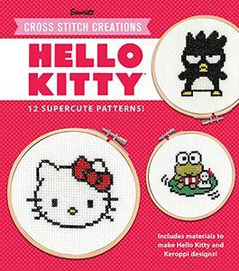 [Hello Kitty: 12 Super-Cute Cross Stitch Patterns (Product Image)]