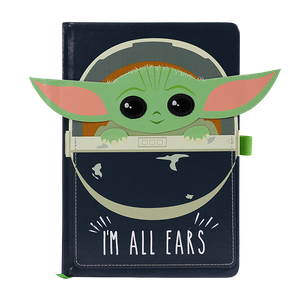 [Star Wars: The Mandalorian: A5 Notebook: The Child: I'm All Ears (Product Image)]