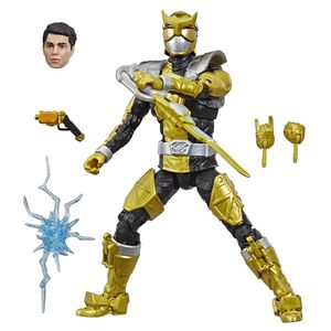 [Power Rangers: Beast Morphers: Lightning Collection Action Figure: Gold Ranger (Product Image)]