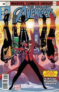 [Uncanny Avengers #28 (2nd Printing Malin Variant) (Legacy) (Product Image)]