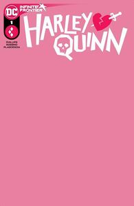 [Harley Quinn #1 (Cover C Blank Card Stock Variant) (Product Image)]