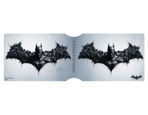 [Batman: Arkham Origins: Travel Pass Holder: Bat Symbol Character Montage (Product Image)]