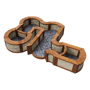 [Warlock Tiles: Expansion Pack: Town & Village: Angles & Curves (Product Image)]