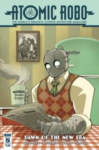 [Atomic Robo & Dawn Of New Era #5 (Cover B Griffith) (Product Image)]