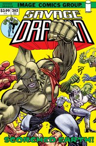 [Savage Dragon #262 (Cover B Retro 70s Trade Dress) (Product Image)]