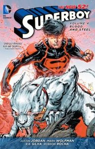 [Superboy: Volume 4: Blood & Steel (N52) (Product Image)]