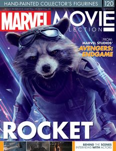 [Marvel Movie Figurine Collection #120: Rocket Raccoon (Product Image)]