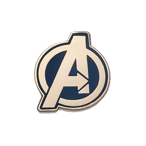 [Marvel: Enamel Pin Badge: Avengers Logo (Product Image)]