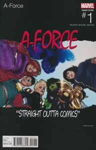 [A-Force #1 (Hughes Hip Hop Variant) (Product Image)]