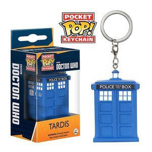 [Doctor Who: Pocket Pop! Keychain: TARDIS (Product Image)]