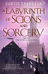 [A Labyrinth Of Scions & Sorcery (Hardcover) (Product Image)]