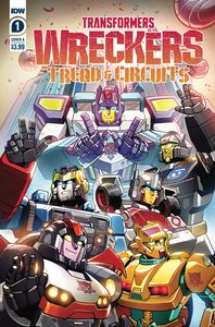[Transformers: Wreckers: Tread & Circuits #1 (Cover A Lawr) (Product Image)]