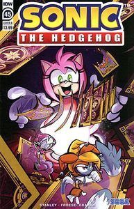 [Sonic The Hedgehog #45 (Cover B Skelley) (Product Image)]