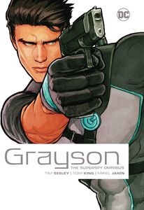 [Grayson: The Superspy: Omnibus (New Edition - Hardcover) (Product Image)]
