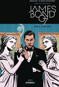 [James Bond: Kill Chain #3 (Cover A Smallwood) (Product Image)]