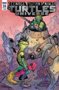 [Teenage Mutant Ninja Turtles: Universe #24 (Cover B Tunica) (Product Image)]