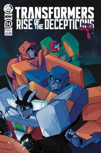 [Transformers #24 (Cover B Red Powell) (Product Image)]