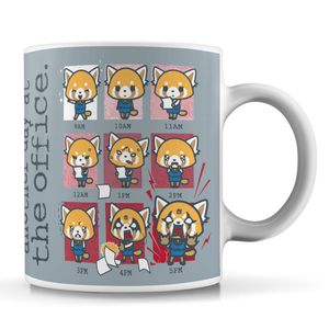 [Aggretsuko: Mug: Another Day At The Office (Product Image)]