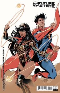 [Future State: Superman/Wonder Woman #2 (Cover B Terry Dodson & Rachel Dodson Card Stock Variant) (Product Image)]