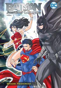 [Batman & The Justice League: Manga: Volume 1 (Product Image)]