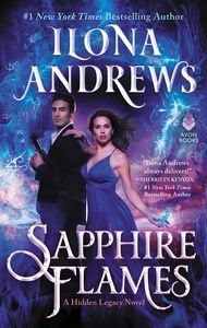 [Sapphire Flames: A Hidden Legacy Novel (Hardcover) (Product Image)]