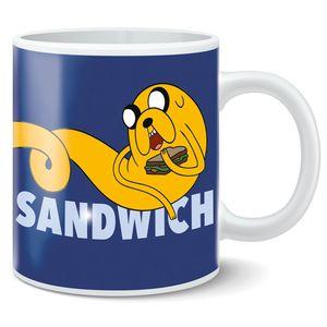 [Adventure Time: Mug: Jake I Choose Sandwich (Product Image)]